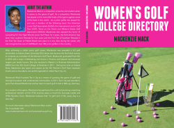 Women's Golf College Directory